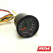 NEWSOUTH PERFORMANCE INDIGO 100PSI 52MM OIL PRESSURE GAUGE VW GOLF 4 & 5 GAU010