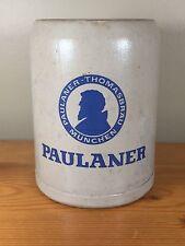 Paulaner München Thomasbrau German Ceramic 0.5L Beer Stein Mug