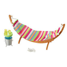 Barbie Kitty and Hammock Outdoor Doll Playset