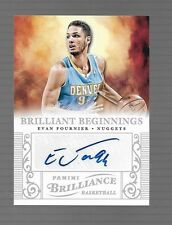 2012-13 Panini Brilliance Evan Fournier  Auto