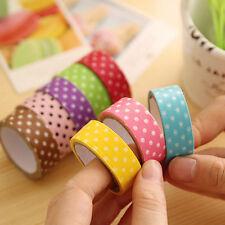 1.5cm Washi Masking Tape DIY Basteln Klebeband Papierband Reispapier Dekor