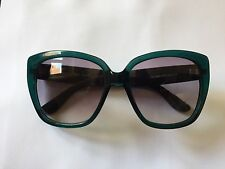 Marc Jacobs Sunglasses 358 43F VK Green Crystal Blue Green Stripe Grey Gradient