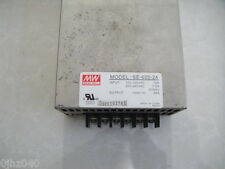 1PC USED Meanwell Switching Power Supply SE-600-24 600W 24V 25A