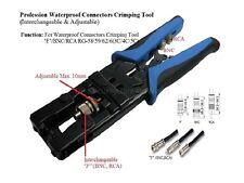 RG-59(4C),RG-6(5C) F BNC RCA connetor Professional Compression Crimping Tools