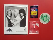 BLUE MURDER,FIRM,Thin Lizzy,Promo Photo,3 RARE Backstage passes,Tour Originals