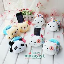 Free Shipping Cute Plush Panda Bear Mobile Smart Cell Phone Holder Soft Toy Gift
