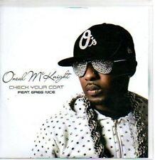 (463H) O'neal McKnight, Check Your Coat - DJ CD
