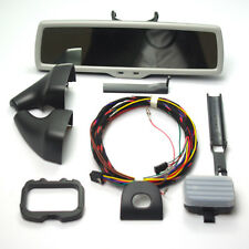 WINDSHIELD RAIN SENSOR+ANTIGLARE REAR VIEW MIRROR GRAY For JETTA GOLF TIGUAN
