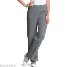 HANES FLEECE SWEAT JOGGING WORK OUT PANTS WOMEN 2XL(18-20) CHARCOAL
