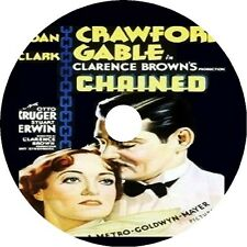 CHAINED DVD Joan Crawford Clark Gable Otto Kruger 1934 rare