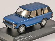 LAND ROVER RANGE ROVER in Blue 1/43 scale model by Whitebox