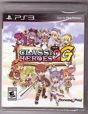 Class of Heroes 2G [Playstation 3 PS3 EXCLUSIVE RPG D VARIANT Numbered] NEW