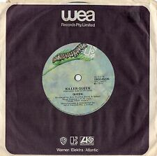 "QUEEN - KILLER QUEEN - RARE 7"" 45 VINYL RECORD - 1975"