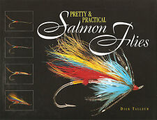 TALLEUR DICK FLYTYING BOOK PRETTY & PRACTICAL SALMON FLIES hardback BARGAIN new
