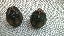 HOT TOYS ALIEN EGGS PAIR EMPTY 1:6 USED without Action Figure LIKE NEW SNAP KIT