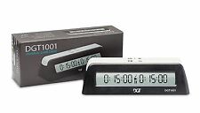 DGT 1001 Electronic Digital Chess Clock. Black. New