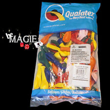 "100 Ballons Qualatex ROND 5"" STANDARD - Magie - sac sculpture"