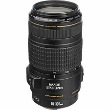 Canon EF 70-300mm f/4.0-5.6 Lente IS USM