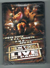 NEW-YORK UNDER COVER - LIVE IN PARIS - PETE ROCK & C.L. SMOOTH - 2007 - NEUF NEW