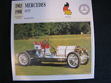 Card 1903 - 1908 Mercedes 60/70 (Nederlands) (CC)