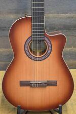 """La Patrie Hybrid CW Light Burst Crescent """"SF"""" Guitar w/ TRIC Case #041718000031"""