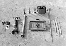 WW2 Photo WWII  US 60mm Mortar World War Two Infantry Weapon World War Two/ 1494