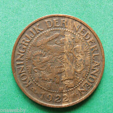 1922 - Netherlands - 1 Cent - SNo36910