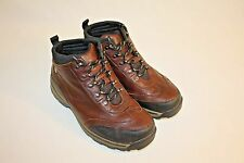 Timberland Boys Youth Brown Leather Hiking Trail Boots Shoes Size 5M