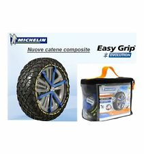 MICHELIN EASY GRIP EVOLUTION EVO 8 205/65-15 CATENA CALZA NEVE OMOLOGATE ITALIA