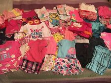 LARGE MIXED LOT OF 49 ITEMS OF GIRLS CLOTHING SIZE 5-5t