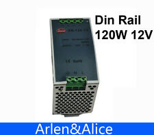 120W 12V Din Rail Single Output Switching power supply