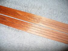 Bloodwood solid exotic wood binding strips, 8 pieces, luthier, guitar, inlay