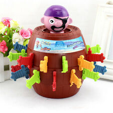 WS AU Boy Girls Adult Pirate Barrel Game Toys Stab Barrel Lucky Party Games