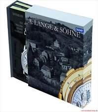 Fachbuch A. Lange &  Söhne 2 Bände Firmenchronik Dokumentation sehr viele Uhren