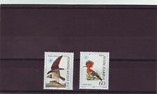 YUGOSLAVIA - SG2202-2203 MNH 1985 NATURE PROTECTION - BIRDS