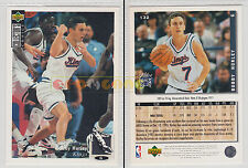 NBA UPPER DECK 1994 COLLECTOR'S CHOICE - Bobby Hurley #132 - Ita/Eng- MINT