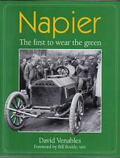 Napier la primera a usar la Verde 1898-1960s Gordon Bennett Tierra records de velocidad