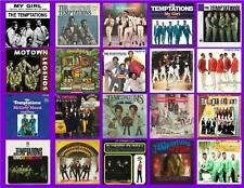 THE TEMPTATIONS RECORD ALBUMS,  20 PHOTO FRIDGE MAGNETS