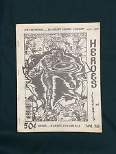 Scarce Spring 1965 HEROES ILLUSTRATED #1 Fanzine Dick Pryor MarvelMania Kirby