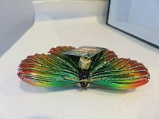 Festive Butterfly   Old World Christmas  glass ornament