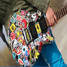 10pcs Fashion Sticker Bomb Vinyl Roll Car Skate Skateboard Laptop Motor Decal