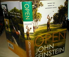 2003 OPEN: INSIDE THE ROPES AT BETHPAGE BLACK John Feinstein SIGNED 1st Edition