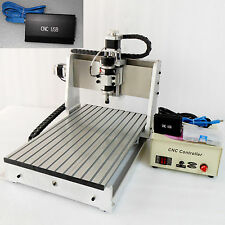 CNC Router 3020 USB + ballscrew engraving drilling and milling machine engraver