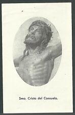 Estampa antigua Santo Cristo del Consuelo andachtsbild santino holy card santini