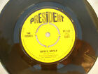 EQUALS SOFTLY SOFTLY / LONELY RITA president 222 EX+.....45rpm pop / single