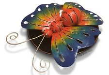 Colourful Butterfly Mozzie Coil Holder Patio Deck Home Garden BBQ Repellent