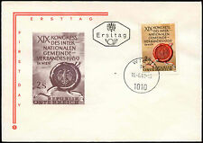 Austria 1969 Local Authorities Congress FDC First Day Cover #C24300