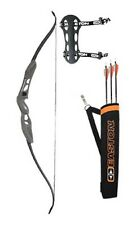 Easton Youth Beginner Recurve Bow Kit 10-20lbs Right Hand/Left Hand Black