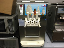 Carpigani UC 1131/G Frozen Yogurt, Ice Cream, Gelato Two Flavor W/ Twist Machine