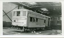 6B750 RP 1963 CORNWALL ONTARIO STREET RAILWAY TRACK REPAIR CAR #4 ex FT WORTH